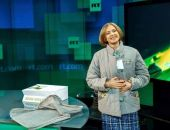 Наталье Поклонской в Москве подарили ватник