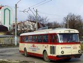 Вчера в Симферополе троллейбус сбил пешехода