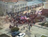 В Крыму проходит митинг в честь Дня Сил специальных операций, который отмечается 27 февраля