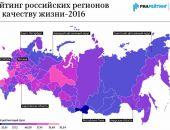 В рейтинге качества жизни в России Крым – на уровне Амурской области и Республики Марий Эл