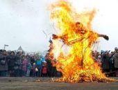 Чучело Масленицы в Крыму сжигали согласно правилам противопожарной безопасности, — МЧС