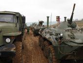 Дислоцированные в Крыму воинские части подняты по тревоге