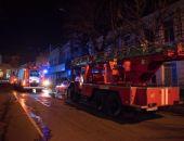 Центр столицы Крыма перекрывали из-за пожара (фото)