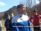 В сети появилось видео скандального разгона футбольного матча под Феодосией