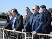 Министр сельского хозяйства Крыма Рюмшин посетил завод марочных вин в Коктебеле