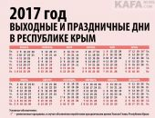В Крыму понедельник 20 марта – нерабочий день