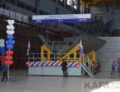 На Феодосийском судостроительном заводе «Море» заложили малый ракетный корабль «Охотск» (видео):фоторепортаж