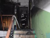 В Феодосии на пожаре в доме по ул.Челнокова спасли женщину и её кота