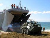 В Крыму на полигоне Опук сегодня начались масштабные военные учения ВДВ, ВКС, сил ПВО и ЧФ