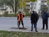 В Феодосии продолжается жесткая борьба с незаконными врезками в ливневки