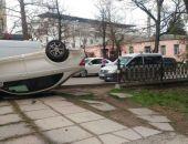 Вчера в  ДТП в Симферополе столкнулись три иномарки из-за школьницы