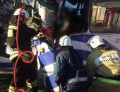 В Севастополе троллейбус врезался в столб, пострадали пять человек и водитель (фото):фоторепортаж