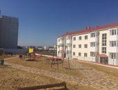 В Керчи завершено строительство двух домов для переселенцев из СЗЗ Крымского моста