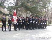 В Феодосии сегодня отметили годовщину образования Росгвардии (видео)