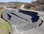 В Крыму аварийный участок трассы Симферополь – Севастополь закрыли до 2018 года