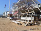 Вопрос о сносе пляжного стадиона в Феодосии вызвал широкий резонанс (видео):фоторепортаж