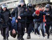 Вчера во время митинга против коррупции в Москве полиция задержала более тысячи человек