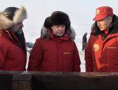 Путин и Медведев прилетели в Арктику контролировать борьбу с мусором