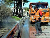 В Крыму региональные автодороги будет убирать новая спецтехника