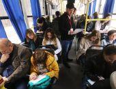 Крымчане писали «тотальный диктант» в троллейбусе на высокогорной трассе (фото)