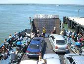 На Керченской переправе из-за ремонта причалов пеших пассажиров обслуживает два парома