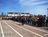 Феодосийские школьники приняли участие в эстафете (видео)