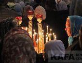 Феодосийские православные встретили Светлое Христово Воскресение