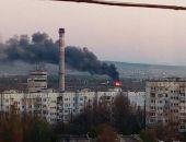 В столице Крыма сгорела птицефабрика «Южная» (фото)