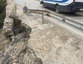 В Крыму единственная дорога в Новый Свет вот-вот рухнет