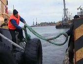 Под Керчью возобновили поиски моряков затонувшего сухогруза