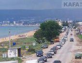 В Крыму на трассе Феодосия – Керчь всё лето будут автомобильные заторы