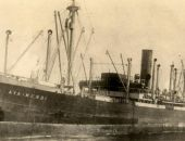 У побережья в Крыму обнаружили затонувший в 1943 году пароход с материальными ценностями
