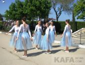 В Феодосии торжественно открыли курортный сезон (видео)