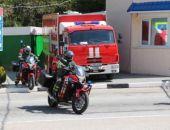 В Крыму на Ангарском перевале с 1 мая круглосуточно дежурит группа МЧС на комплексе «Кирасир»