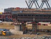 Сооружена половина опор моста через Керченский пролив