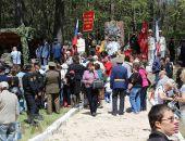 Феодосийские ветераны ездили чествовать крымских партизан на Ангарский перевал