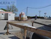 В Феодосии прокол под железной дорогой для прокладки коллектора начнут делать после праздников