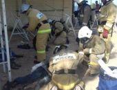 В Феодосии на пожаре в районе пляжа «Жемчужный» спасены три человека (видео)