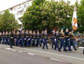 В Симферополе впервые прошел военный парад в честь Дня Победы