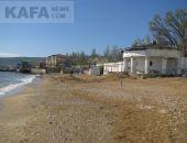 В Феодосии не все пляжи готовы к лету