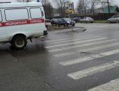 В Симферополе женщина-водитель сбила двух школьников на пешеходном переходе