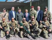 Глава Крыма Аксёнов посетил учебный центр сил специального назначения в Чечне (фото)