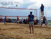В Феодосии состоялось открытие турнира по пляжному волейболу (видео)