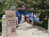 В «Алых парусах» открылся бювет с «Феодосийской» минеральной водой:фоторепортаж
