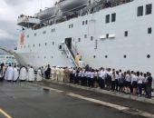 Освятили круизный лайнер «Князь Владимир», который будет ходить по маршруту Сочи – Крым (фото)