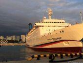 В первый круиз из Сочи в Крым лайнер «Князь Владимир» будет заполнен лишь наполовину