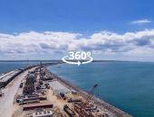 Прямые включения со стройки Крымского моста стали доступны в новом формате (видео)
