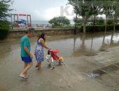 В Феодосии весь день дождь, временами гроза