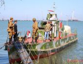 В Крым прибыл уникальный плавучий музей-бронекатер БК 73 (фото)
