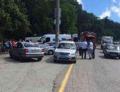 Стали известны подробности вчерашней аварии автобуса у Массандры